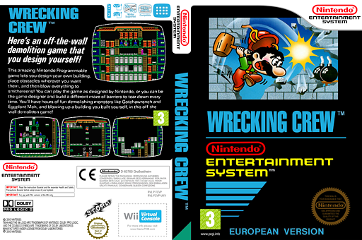 Wrecking Crew VC-NES cover (FCVP)