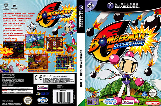 Bomberman Generation GameCube cover (GBGP7D)