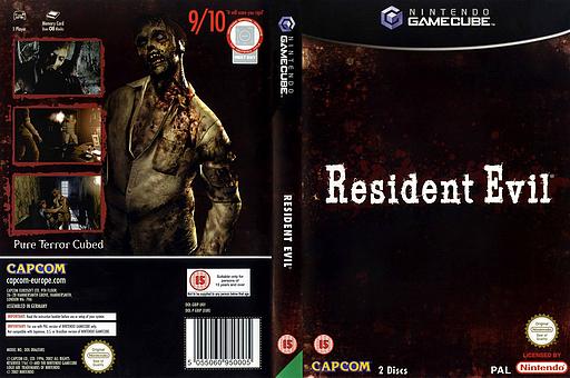 Resident Evil GameCube cover (GBIP08)