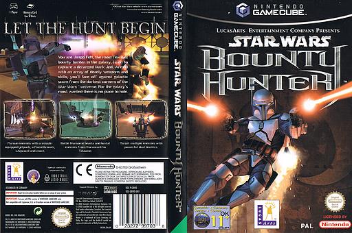 Star Wars Bounty Hunter GameCube cover (GBWP64)