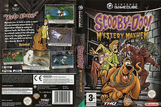 Scooby-Doo!: Mystery Mayhem GameCube cover (GC3P78)