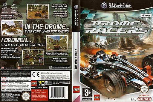 Drome Racers GameCube cover (GD9P69)