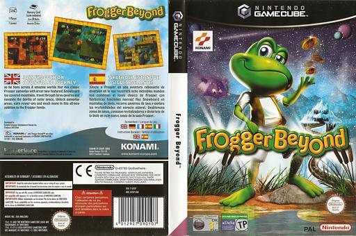 Frogger Beyond GameCube cover (GFGPA4)