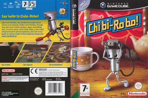 Chibi-Robo! GameCube cover (GGTP01)