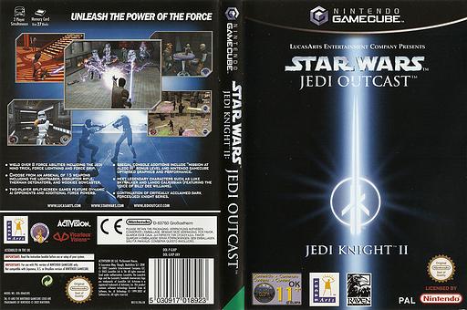 Star Wars Jedi Knight II: Jedi Outcast GameCube cover (GJKP52)
