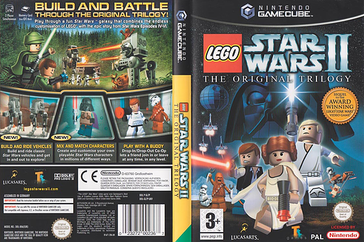 LEGO Star Wars II:The Original Trilogy GameCube cover (GL7P64)