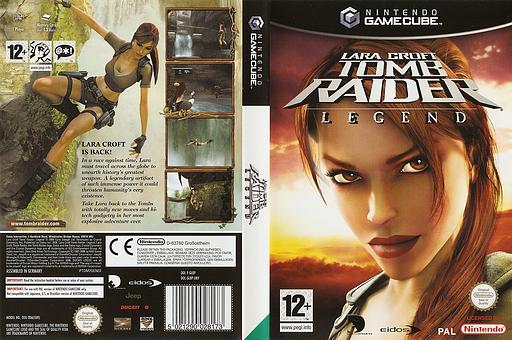 Lara Croft Tomb Raider: Legend GameCube cover (GL8P4F)