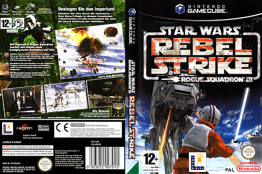 Star Wars Rogue Squadron III: Rebel Strike GameCube cover (GLRD64)