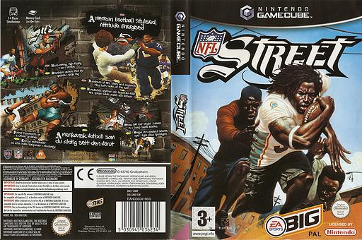 NFL Street GameCube cover (GNNP69)