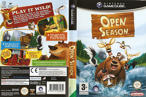 Open Season GameCube cover (GOSP41)