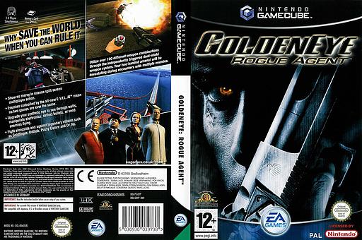 GoldenEye: Rogue Agent GameCube cover (GOYP69)