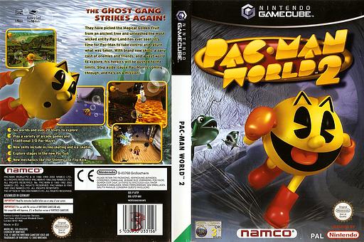 Pac-Man World 2 GameCube cover (GP2P69)