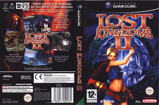 Lost Kingdoms 2 GameCube cover (GR2P52)
