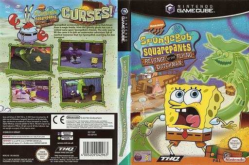SpongeBob SquarePants: Revenge of the Flying Dutchman GameCube cover (GSQP78)