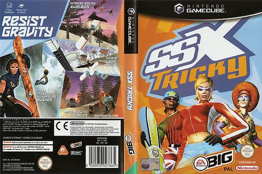 SSX Tricky GameCube cover (GSTP69)