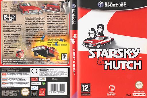 Starsky & Hutch GameCube cover (GT5P7N)