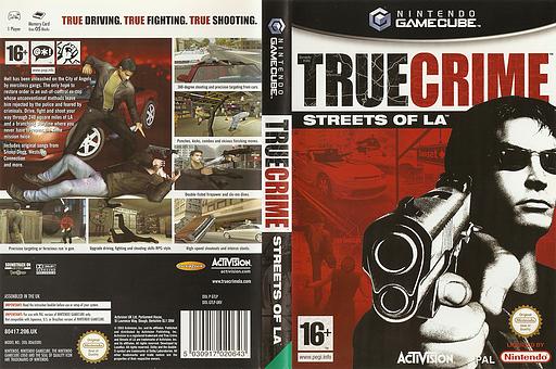 True Crime: Streets of LA GameCube cover (GTLP52)