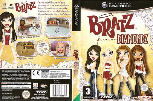 Bratz Forever Diamondz GameCube cover (GVDP78)