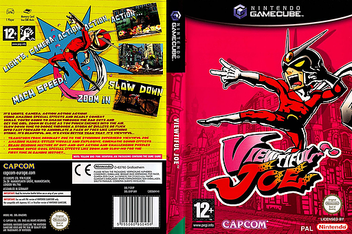 Viewtiful Joe GameCube cover (GVJP08)