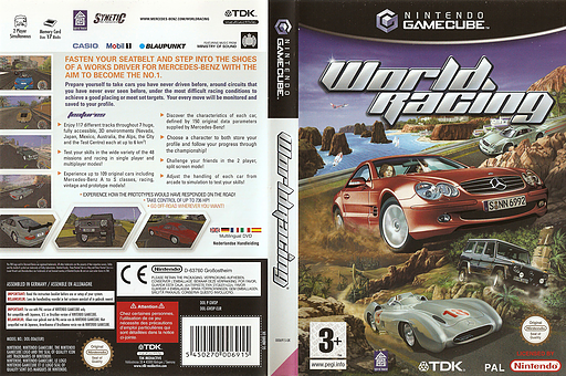 World Racing GameCube cover (GWDP6S)