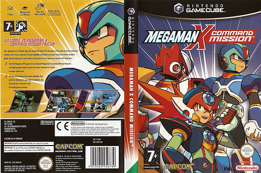 Mega Man X: Command Mission GameCube cover (GXRP08)