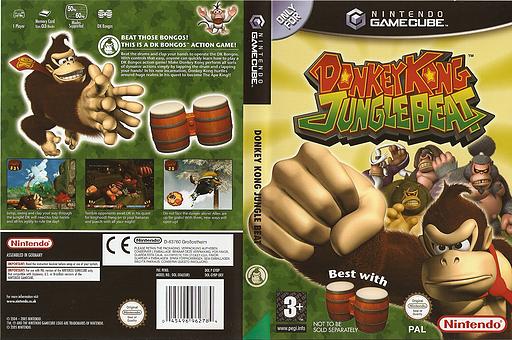 Donkey Kong Jungle Beat GameCube cover (GYBP01)