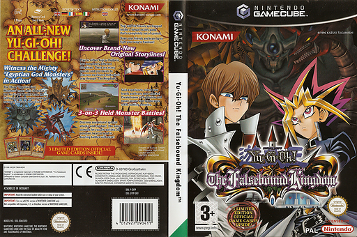 Yu-Gi-Oh! The Falsebound Kingdom GameCube cover (GYFPA4)