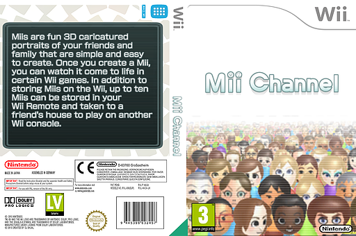 Mii Channel Channel cover (HACA)
