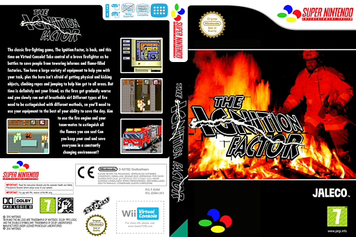 The Ignition Factor VC-SNES cover (JD6M)