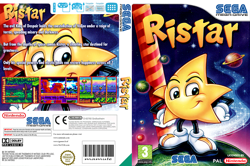 Ristar VC-MD cover (MAGP)