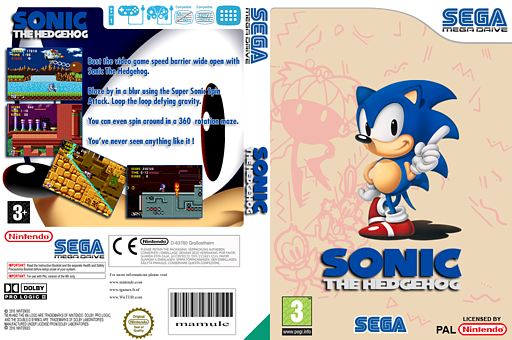 Sonic the Hedgehog VC-MD cover (MAHP)