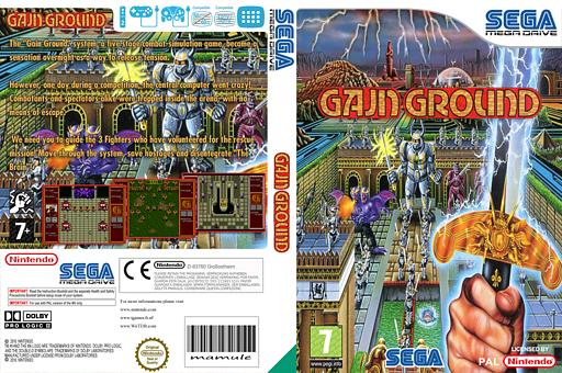 Gain Ground VC-MD cover (MANP)