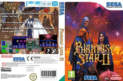 Phantasy Star II VC-MD cover (MB8P)