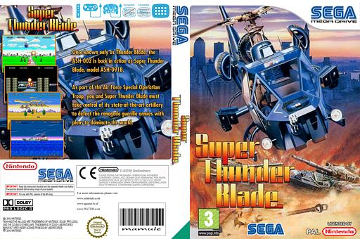 Super Thunder Blade VC-MD cover (MBPP)