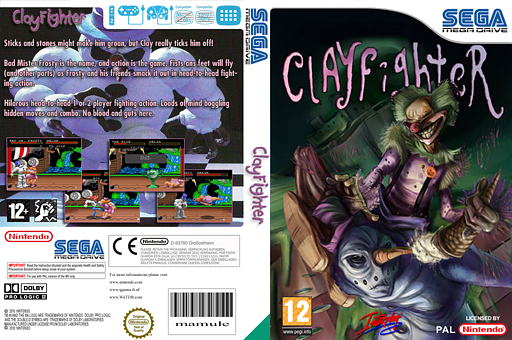 Clay Fighter VC-MD cover (MCTP)