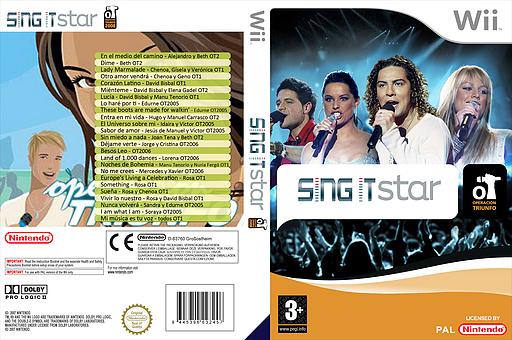 Sing IT: Operación triunfo CUSTOM cover (OTFPSI)
