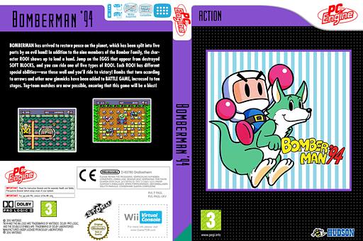 Bomberman'94 VC-PCE cover (PAGL)
