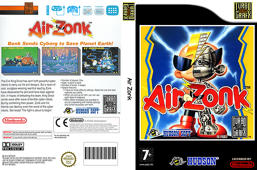 Air 'Zonk' VC-PCE cover (PBWP)
