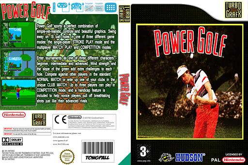Power Golf VC-PCE cover (PCEP)