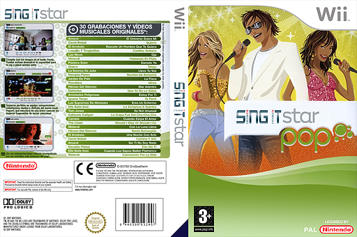 SingItStar Pop CUSTOM cover (POPPSI)