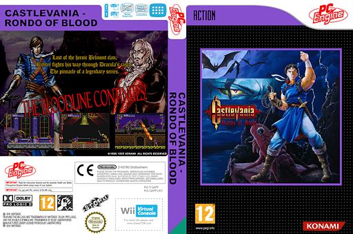 Castlevania:Rondo of Blood VC-PCE cover (QAPP)