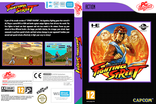 Fighting Street VC-PCE cover (QBBP)
