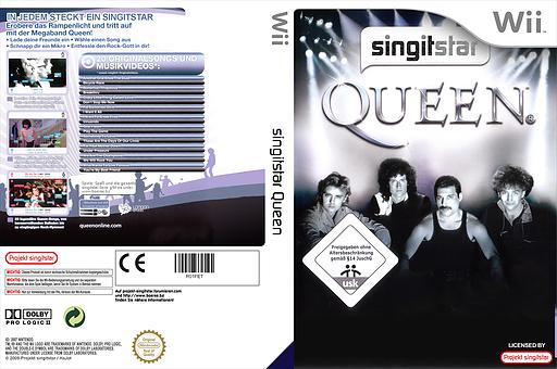 SingItStar Queen CUSTOM cover (R01PET)