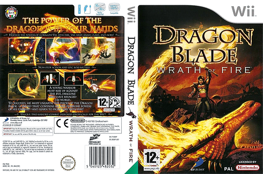 Dragon Blade: Wrath of Fire Wii cover (RDWPG9)