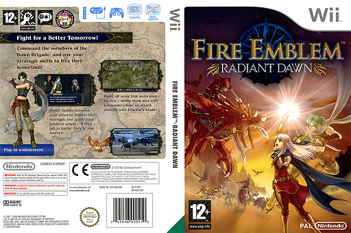 Fire Emblem: Radiant Dawn Wii cover (RFEP01)