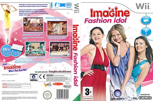 Imagine Fashion Idol Wii cover (RFZP41)
