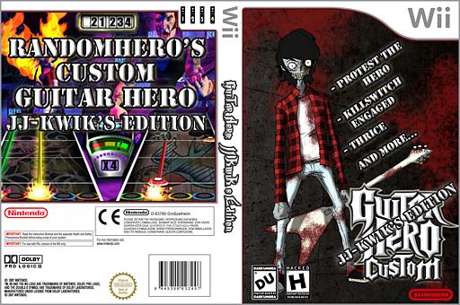 Guitar Hero III Custom:JJ-KwiK's Edition CUSTOM cover (RJJG52)