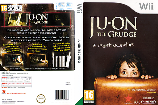 Ju-On The Grudge Wii cover (RJOP99)