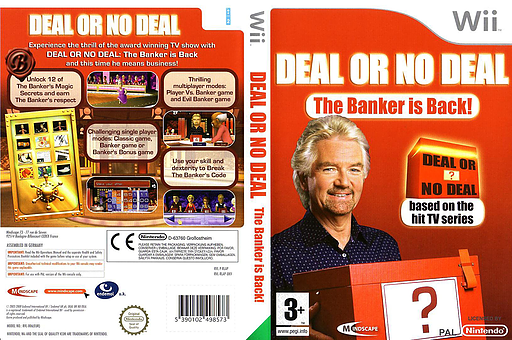 Deal or No Deal: The Banker Is Back Wii cover (RLAPMR)