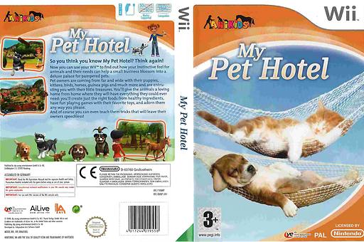 My Pet Hotel Wii cover (RMNDFR)